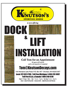 Dock and Lift Installation