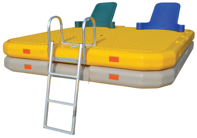 Swim Rafts Aluminum Ladder